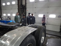 going through a service and inspection