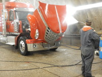 learning how to wash a truck the right way